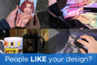 Designer advert