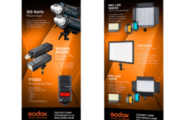 Godox pull up banners